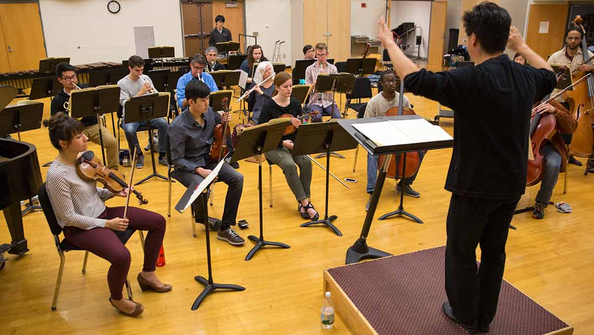 Music schools collaborate for new performance group
