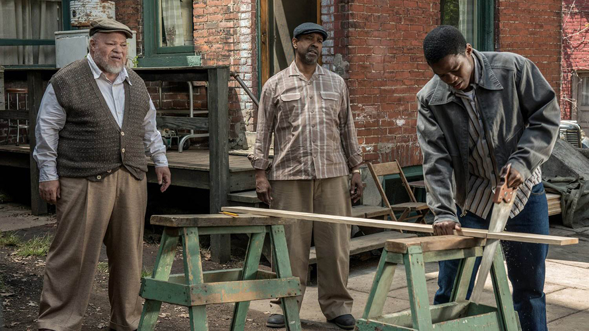 Review: Washington directs a home run with his latest film